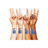 Peace & Love Temporary Tattoo Set