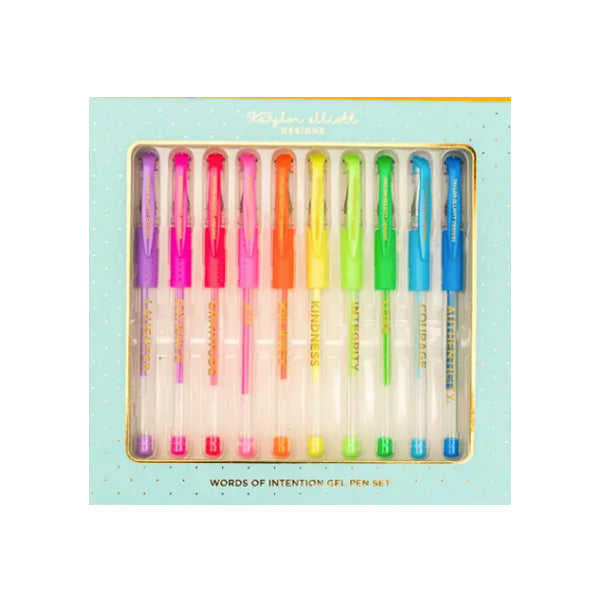 Words of Intention Gel Pens Set
