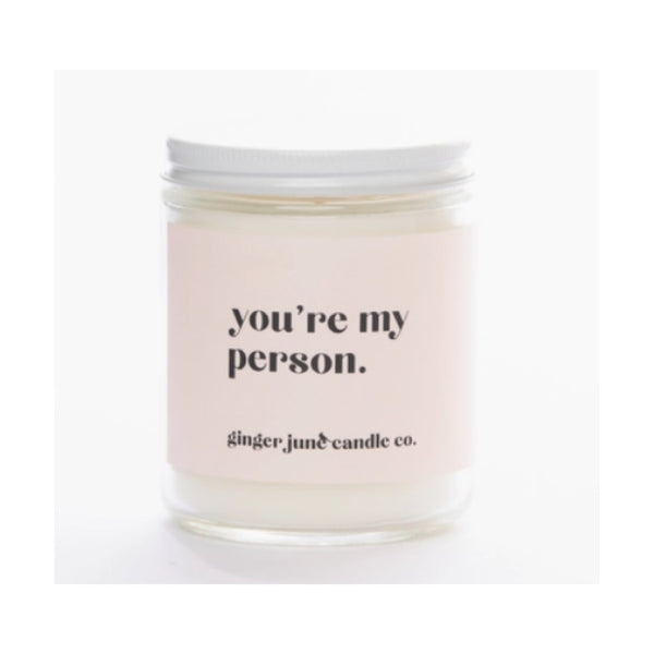 You're My Person: White Pineapple Candle