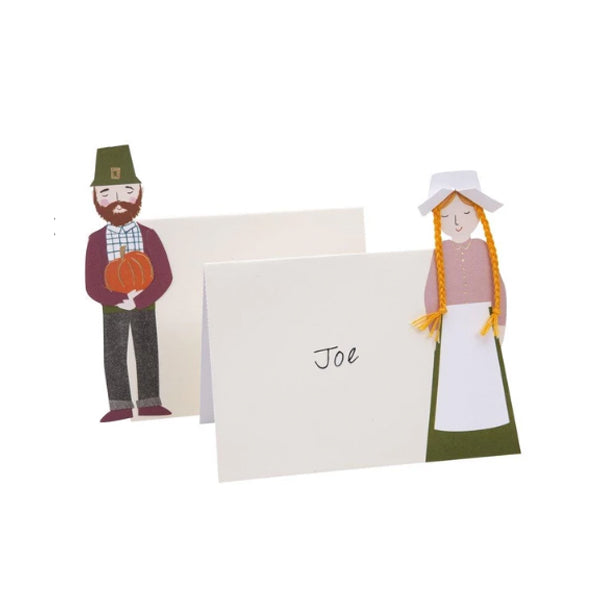 Pilgrim Family Place Cards
