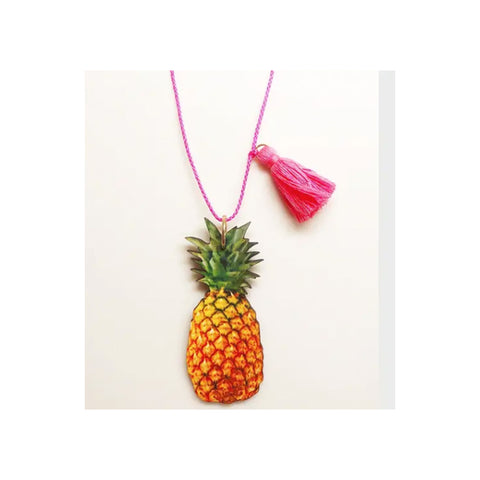 Tropical Pineapple Necklace