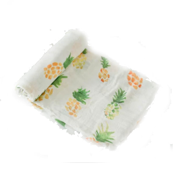 Sweet Pineapple Swaddle Blanket