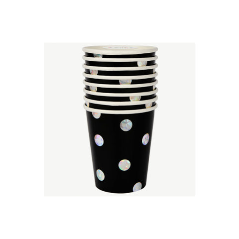 Pop, Fizz, Clink! Noir Cups
