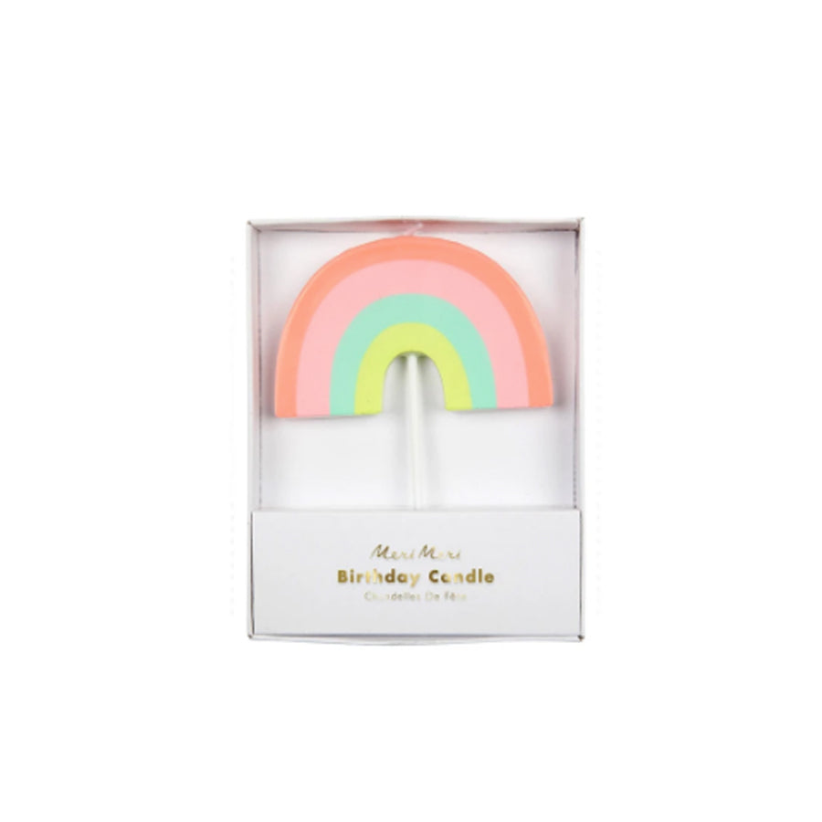 Rainbow Party Candle
