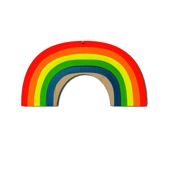 Bright Rainbow Wall Charm