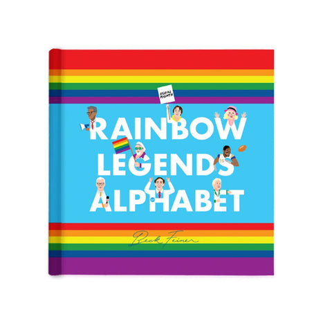 Rainbow Alphabet Legends