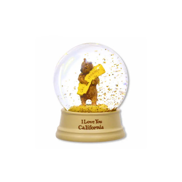 California Bear Mini Snow Globe