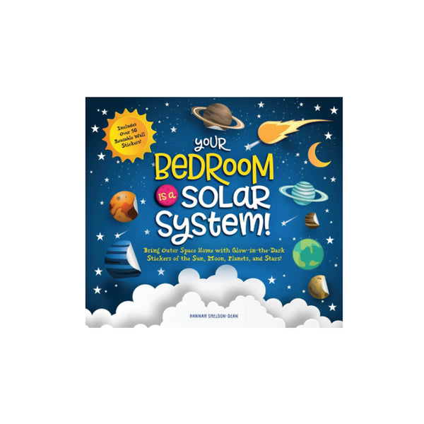 Solar System Book & Glow-in-the-Dark Sticker Set