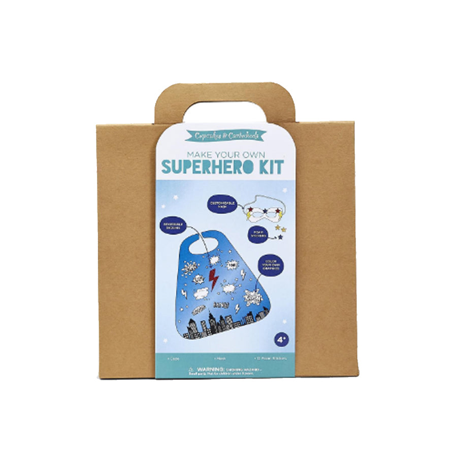 Make Your Own Super Hero Cape & Mask Craft Kit