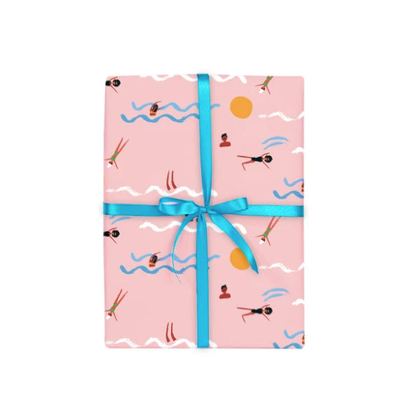 Super Swimmer's Gift Wrap Roll