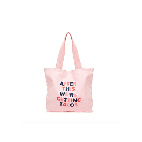 We're Getting Tacos Canvas Tote Bag