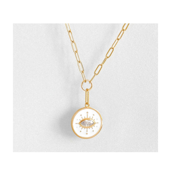 Talisman Eye Necklace by THATCH