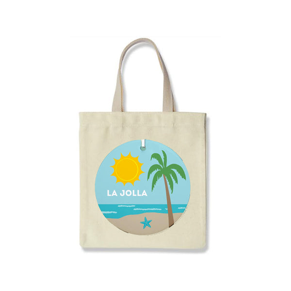 Going Places Big Canvas Tote