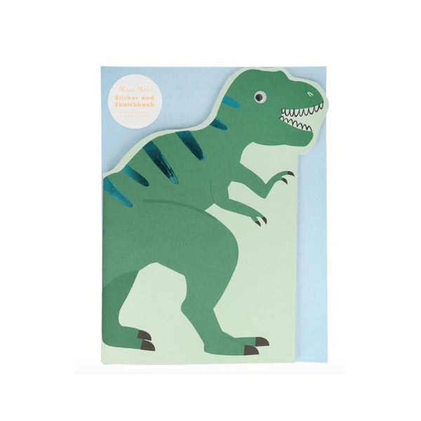 Dinosaur Sticker & Sketchbook