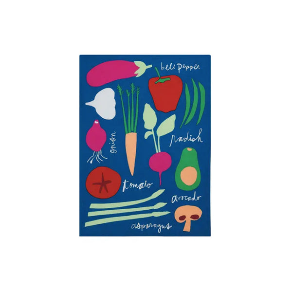 Eat Your Veggies Dishtowel