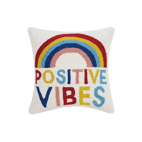 Positive Vibes Hook Pillow