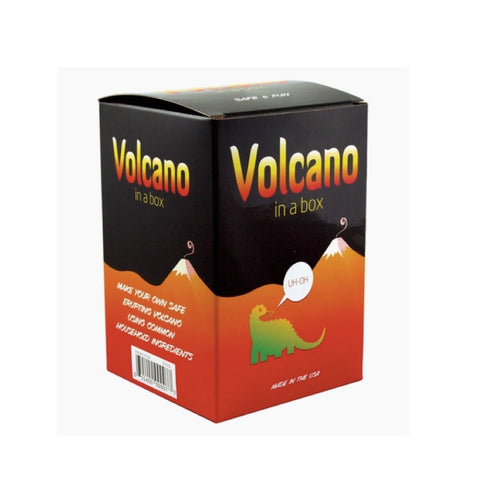 Volcano Printed Travel Tin