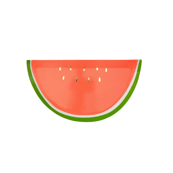 Watermelon Party Plates