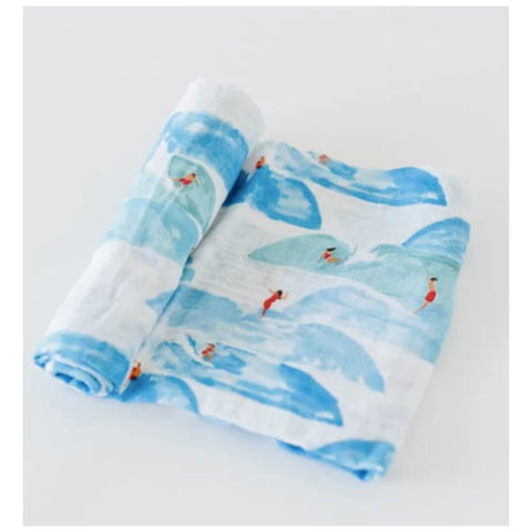 Beach Waves Letterpress Notecard Set