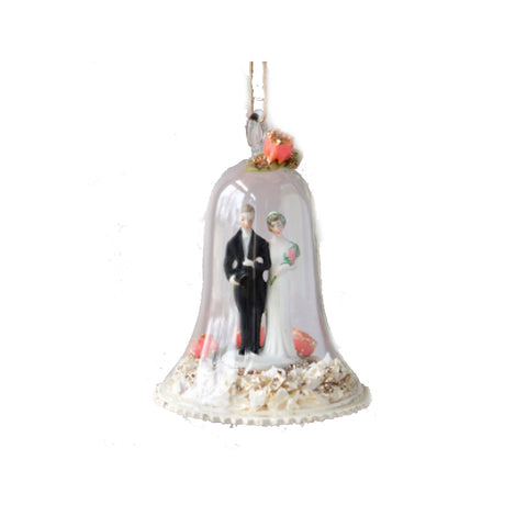 Bride and Groom Wedding Ornament