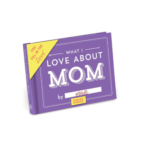 What I Love about Mom Mini Journal