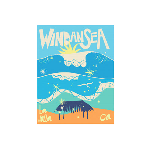Windansea Art Print