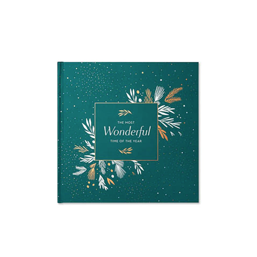 The Most Wonderful Time Of The Year Keepsake Book
