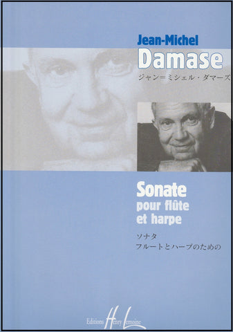 Damase, J. - Sonata for Flute and Harp