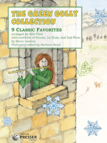 The Green Golly Collection - Four flutes