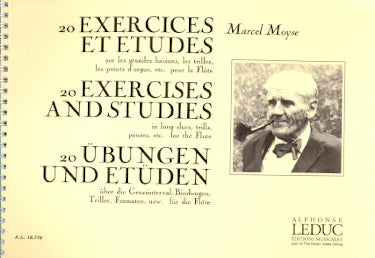Moyse, M. - 20 Exercises and Studies