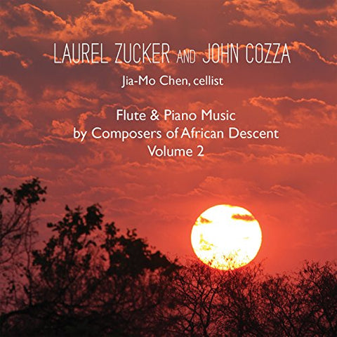 Flute & Piano Music by Composers of African Descent, Vol. 2 CD (Laurel Zucker)