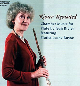 Rivier Revisited, Chamber Music for Flute (Leone Buyse)