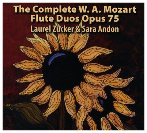 The Complete W.A. Mozart Flute Duos Op. 75 CD