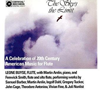 The Sky's the Limit, A Celebration of 20th Century American Music for Flute (Leone Buyse)