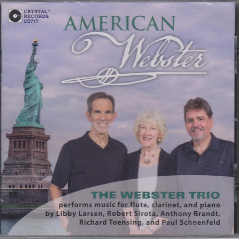 American Webster CD (Webster Trio)