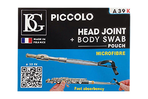 Piccolo Head Joint & Body Swab - FLUTISTRY BOSTON