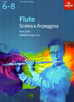 ABRSM Grades 6-8: Flute Scales and Arpeggios
