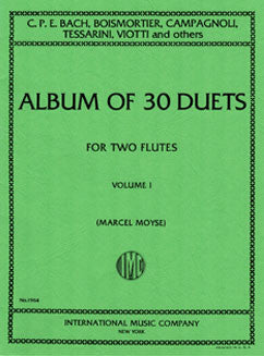 Album of 30 Duets: Vol. I - FLUTISTRY BOSTON