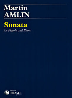Amlin, M.- Sonata for piccolo - FLUTISTRY BOSTON