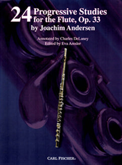Andersen, J. - Twenty-Four Progressive Studies, Op. 33 - FLUTISTRY BOSTON
