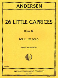 Andersen, J. - 26 Little Caprices, Op. 37