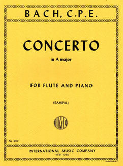 Bach, C.P.E. - Concerto in A major - FLUTISTRY BOSTON
