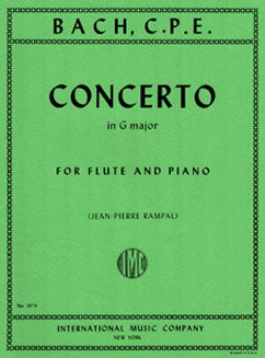 Bach, C.P.E. - Concerto in G major - FLUTISTRY BOSTON
