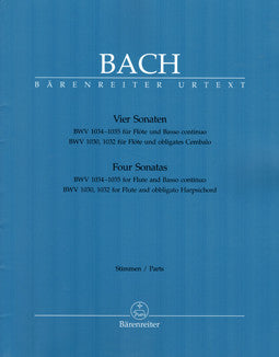 Bach, J.S. - Four Sonatas - BWV 1030, 1032, 1034, 1035 - FLUTISTRY BOSTON