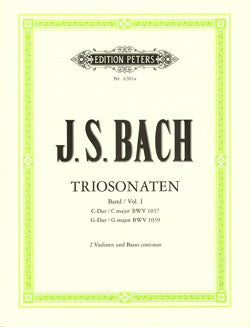 Bach, J.S. - Trio Sonatas Vol. I - FLUTISTRY BOSTON