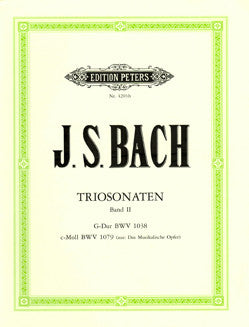 Bach, J.S. - Trio Sonatas Vol. II - FLUTISTRY BOSTON