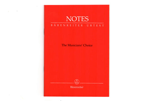 Baerenreiter Mini 8-Stave Jotter for Music and Notes - FLUTISTRY BOSTON