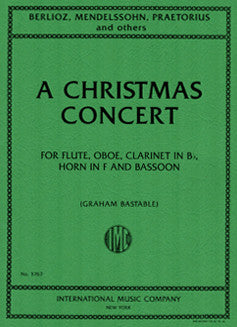 Bastable, G. - A Christmas Concert - FLUTISTRY BOSTON