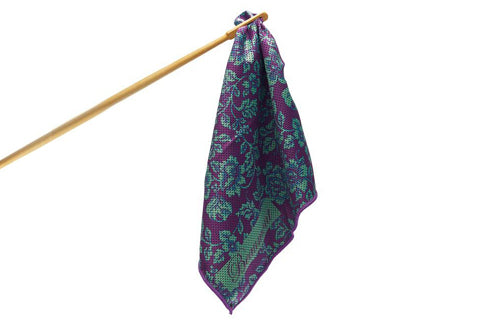 Beaumont Flute Swab - Violet Lace - FLUTISTRY BOSTON