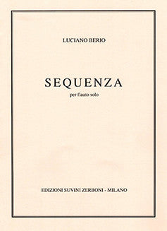 Berio, L. - Sequenza (1958 ed.) - FLUTISTRY BOSTON